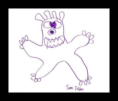 Fikir çocuklardan gerisi ressamdan Sami2