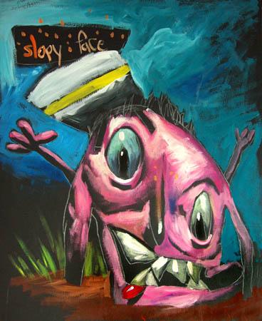 Fikir çocuklardan gerisi ressamdan Slopy