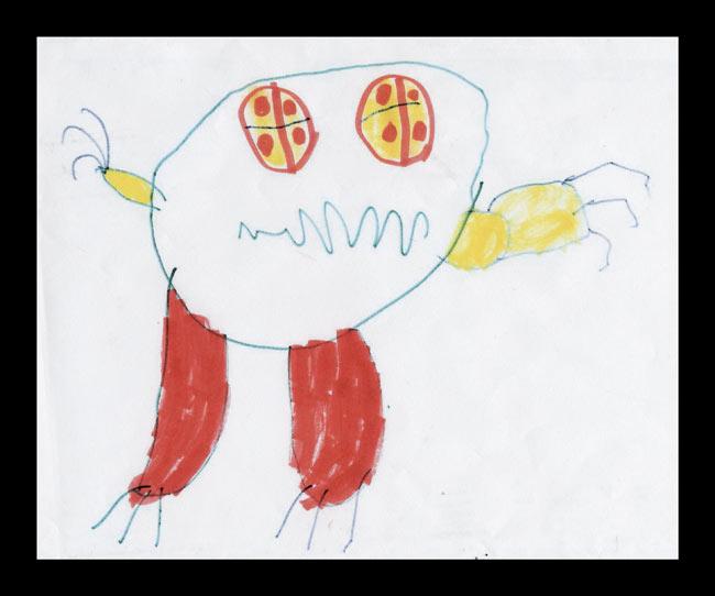 Fikir çocuklardan gerisi ressamdan Pizza2